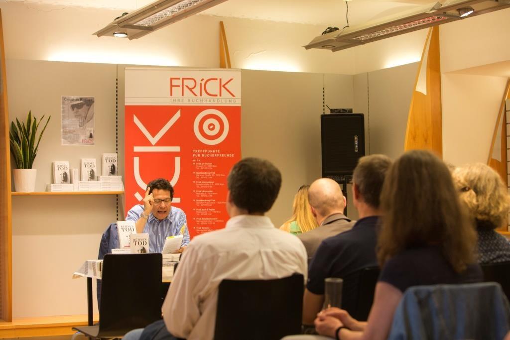 20150602 - Wien - Frick am Graben - Buchpräsentation Bühnentod mit Christian Klinger. © Michele Agostinis